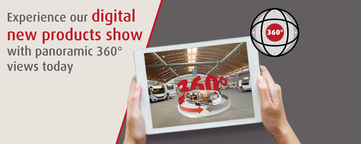 Dethleffs Digital new products show