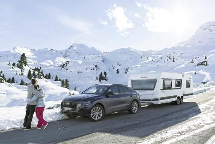 Wintercamping with Dethleffs caravans
