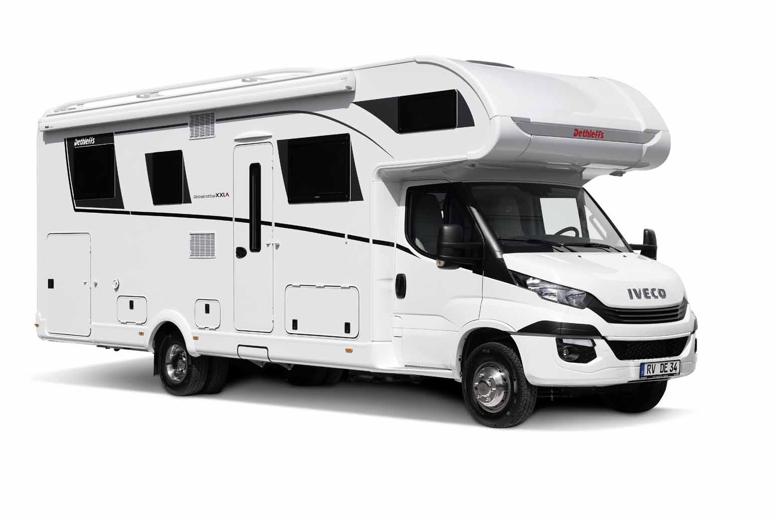 Wohnwagen Mit Etagenbett Xxl : Globetrotter xxl reisemobil dethleffs reisemobile und wohnmobile