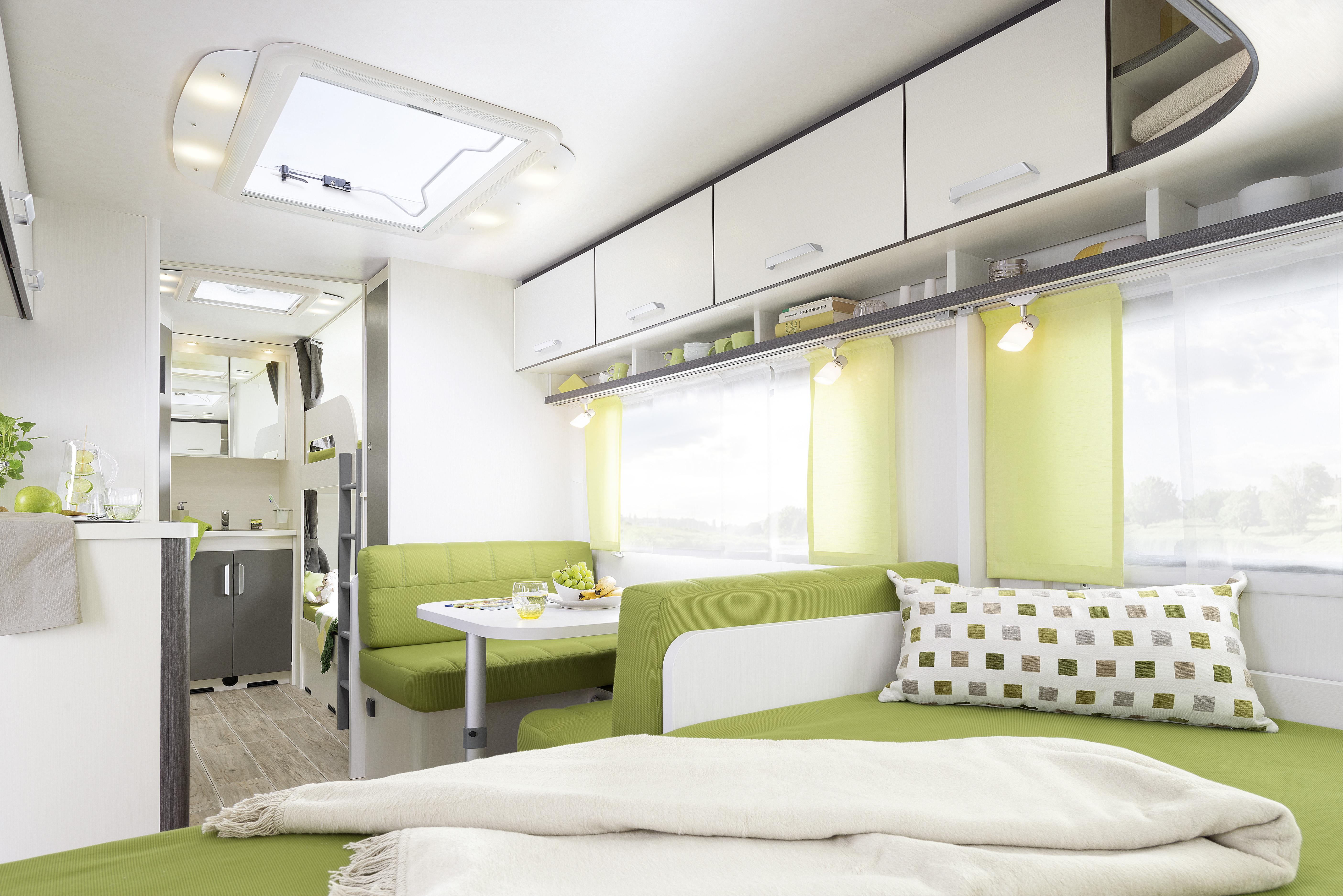 Wohnwagen Mit 3er Etagenbett Kaufen : Cgo dethleffs